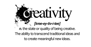 The definition of creativity