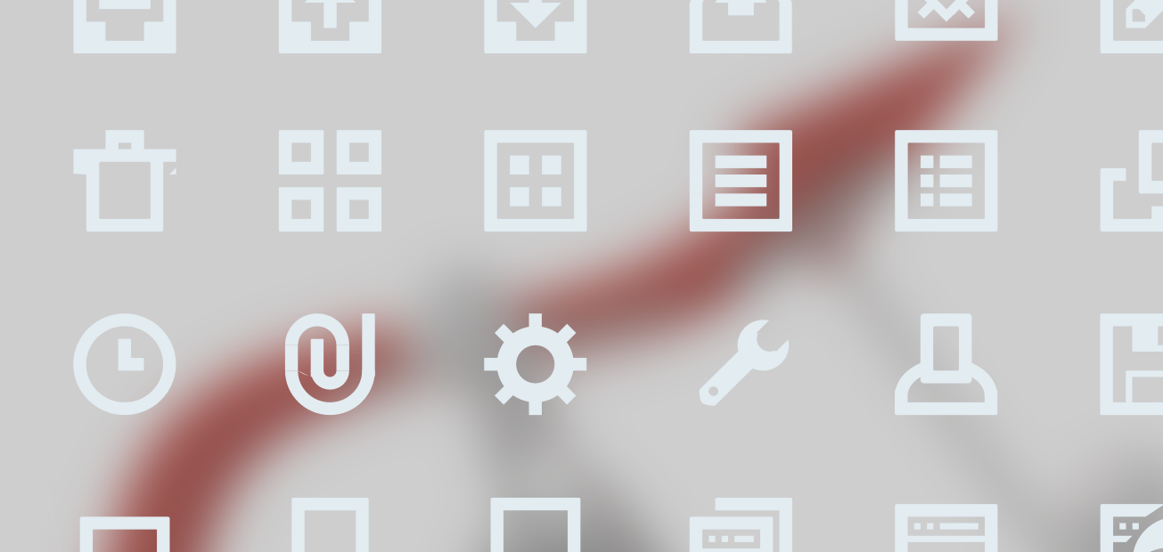 Promotional icons overlayed on an upwards arrow