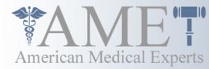 The logo for American Medical Experts