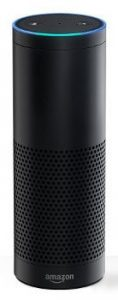 An Amazon Alexa digital assistant.