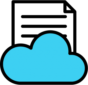 A file in a cloud